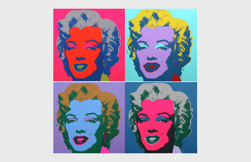 WARHOL – MARYLIN SUNDAY B MORNING