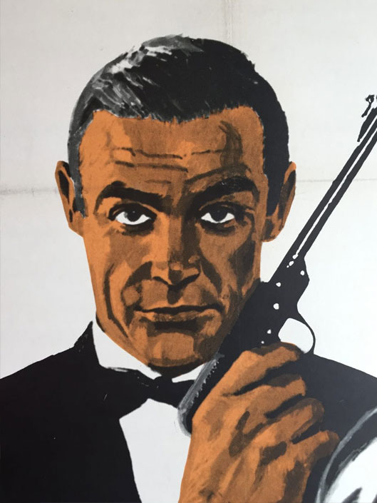 James Bond - Sean Connery 1967 Original Vintage Cinema Poster