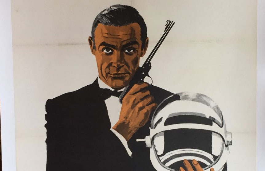 Poster of the week : James Bond 'Sean Connery' 1967