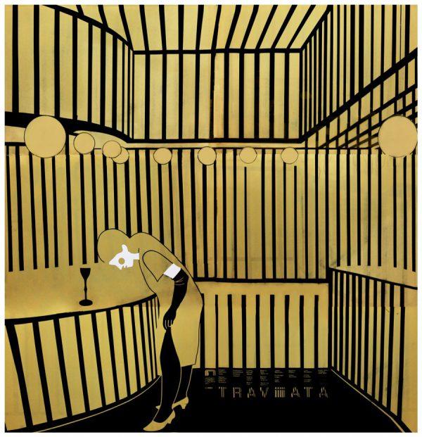 Boris Bucan La Traviata Original Vintage Poster