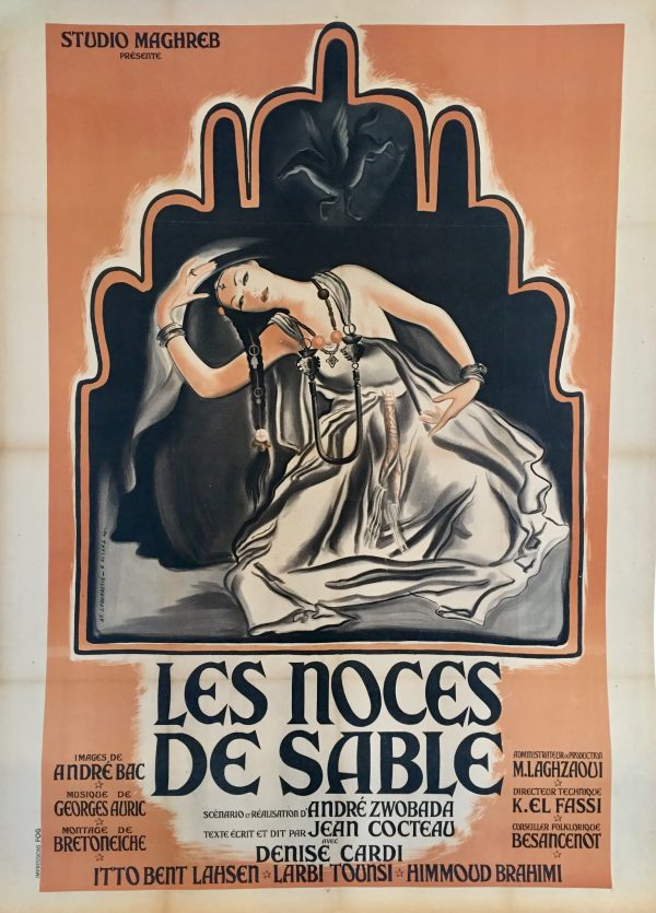 Les Noces de Sable 1948 Original Vintage Film Poster