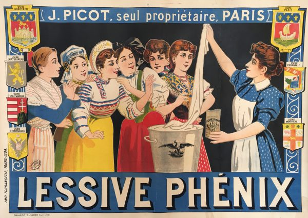 Lessive Phenix Original Vintage Poster Early Century Lithography
