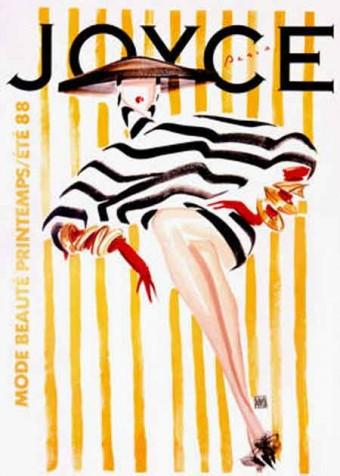 joyce vintage poster