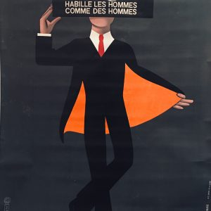 Bidermann Original Vintage Poster by Raymond Savignac