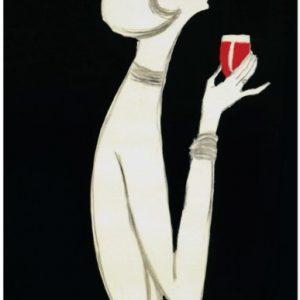 Campari Rouge by Villemot Original Vintage Poster