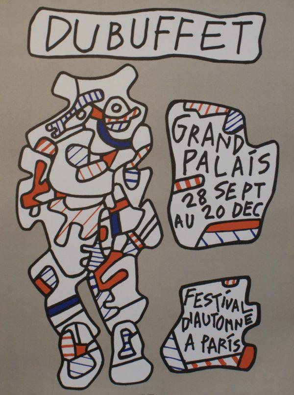 FESTIVAL D'AUTOMNE A PARIS Original Vintage Poster