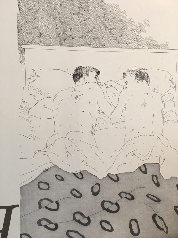 Two Boys Aged 23 or 24 1968 David Hockney
