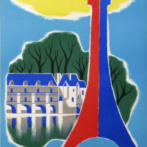 FRANCE PARIS Guy Georget Original Vintage Poster
