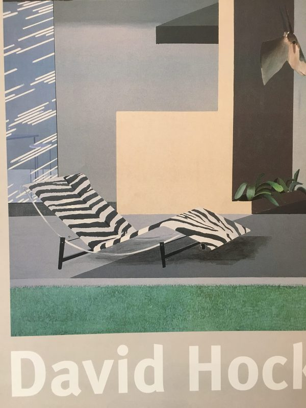 Beverly Hills Housewife by David Hockney Original Vintage Poster