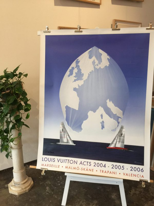 Louis Vuitton Acts 2004 - 2005 - 2006 Original Vintage Poster