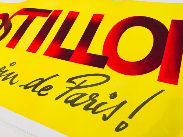 Postillion C'est le vin de Paris! by Alain Gauthier Original Vintage Poster