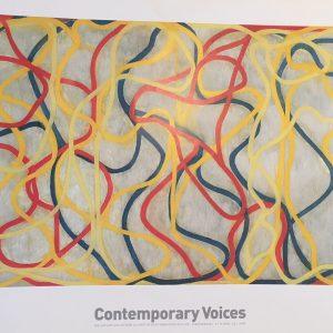 Contemporary Voices Fondation Beyeler Original Vintage Poster
