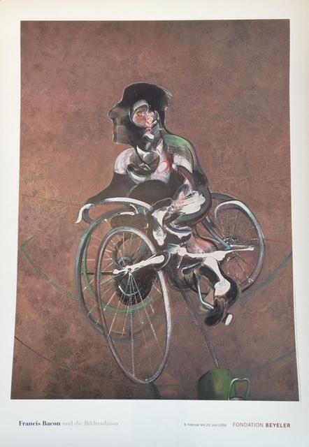 Francis Bacon Fondation Beyeler Original Vintage Poster