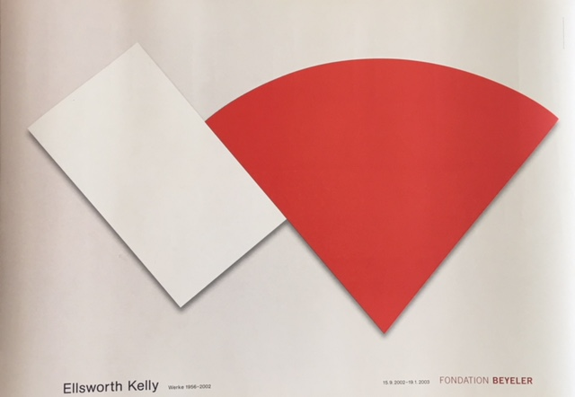 Ellsworth Kelly Fondation Beyeler Original Vintage Poster