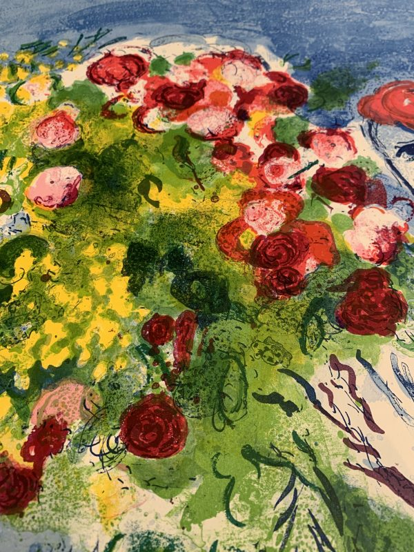 Chagall nice soleil vintage poster