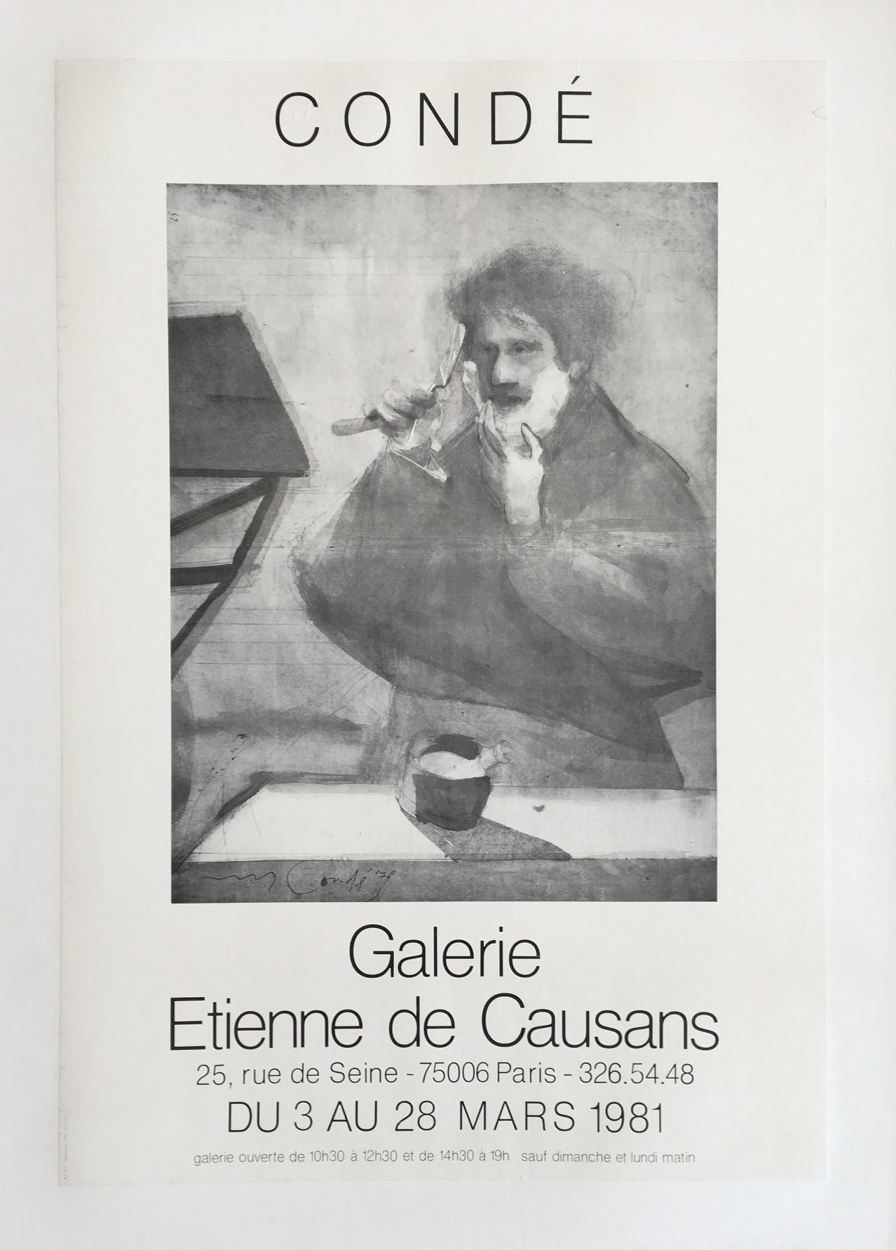 Galerie Etienne de Causans Original Vintage Poster