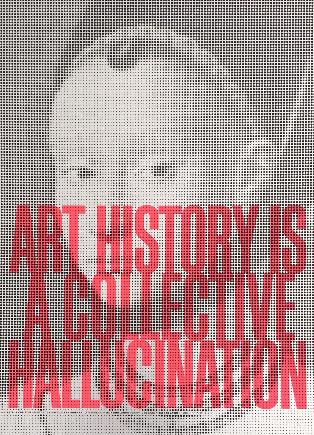 Petrus Christus Art History Original Vintage Poster