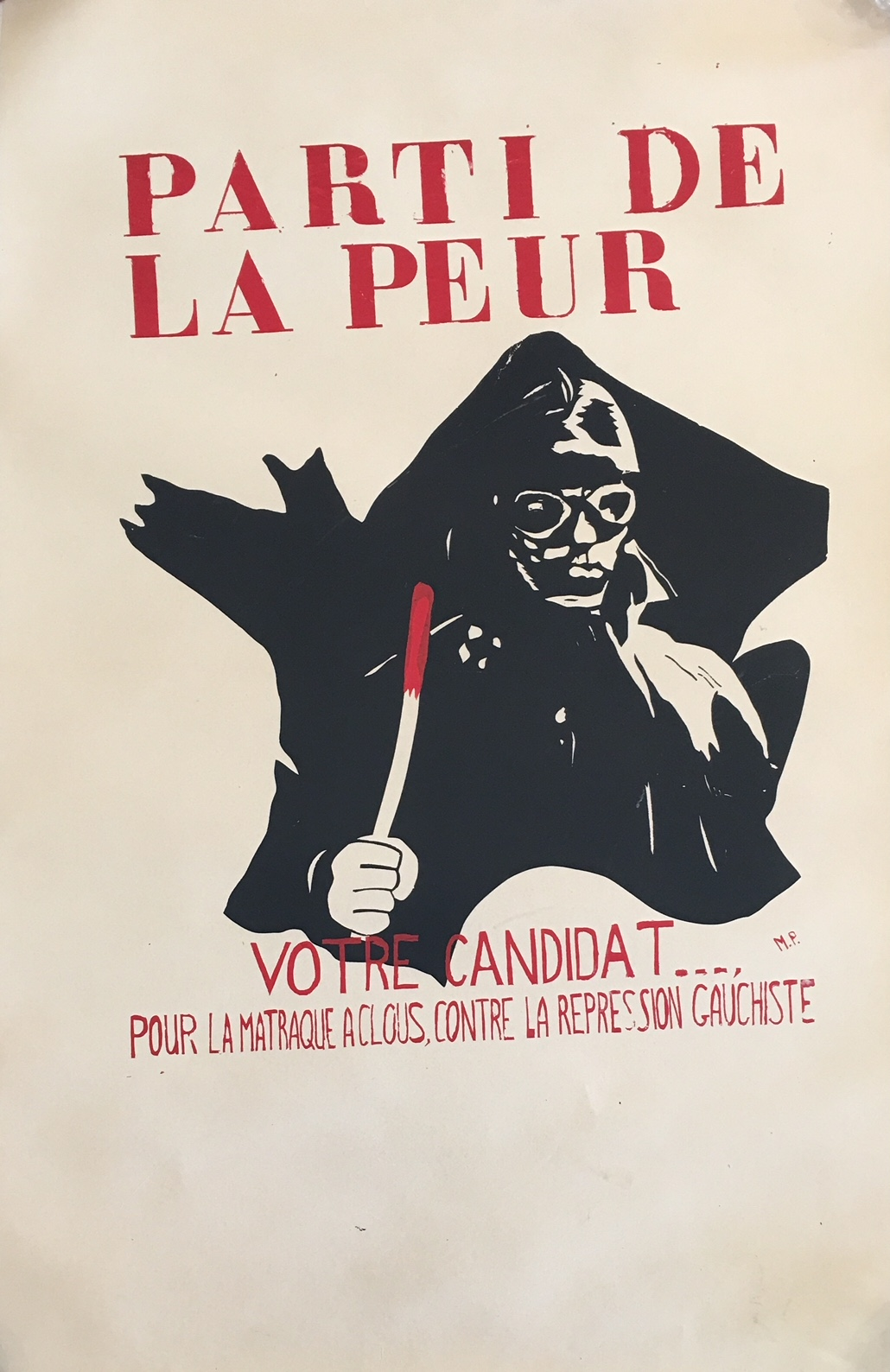 Parti De La Pear Original Vintage Posters