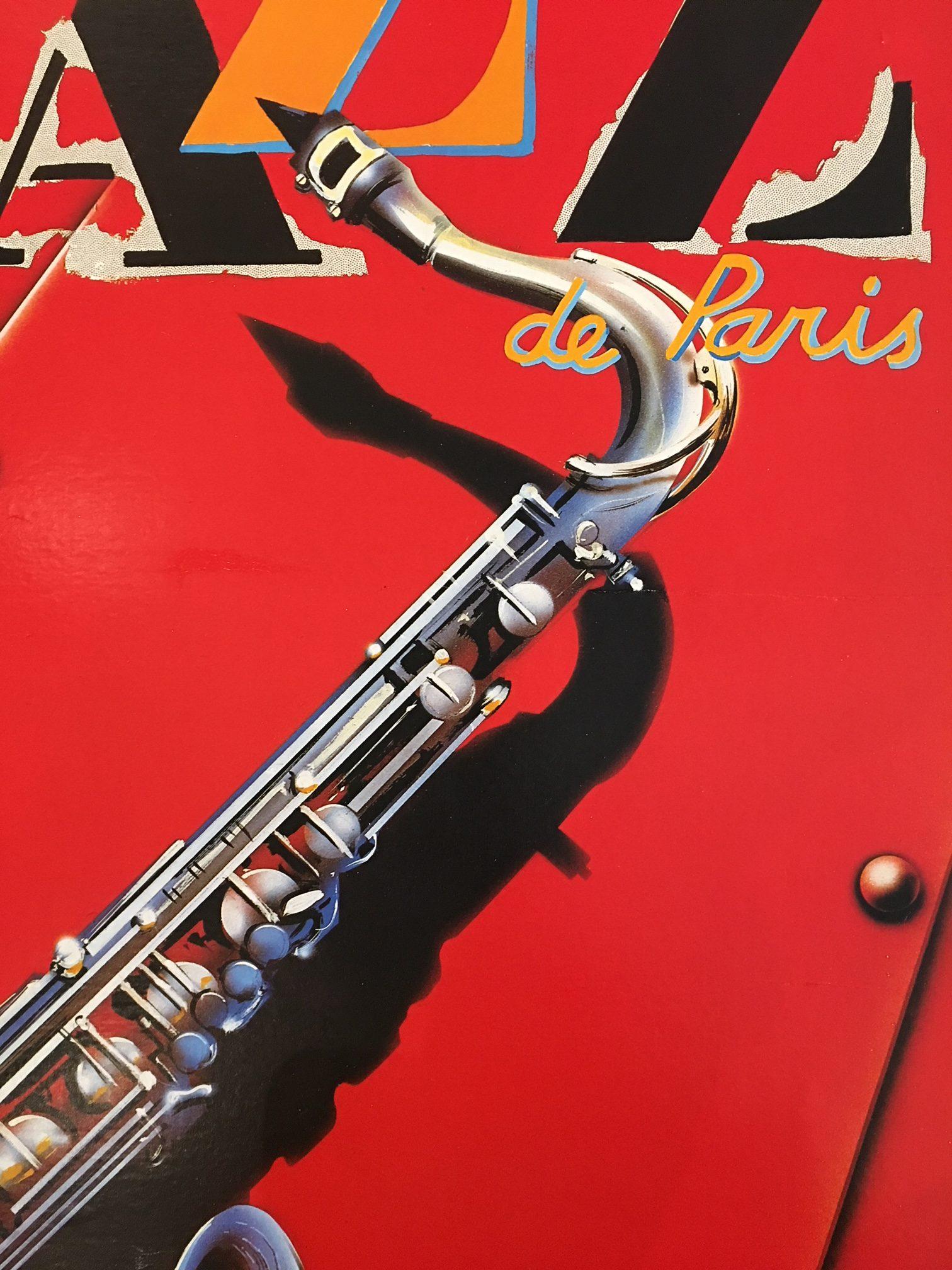 Festival de Jazz de Paris 1988 Original Vintage Poster