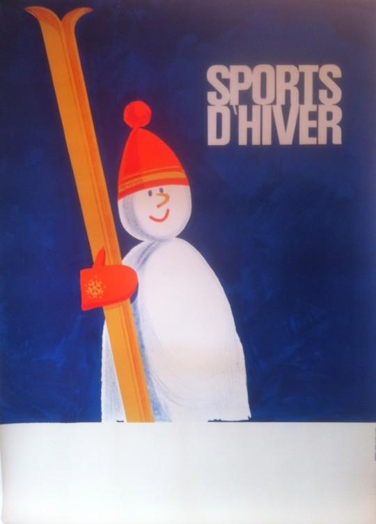 Sports D'hiver Snowman