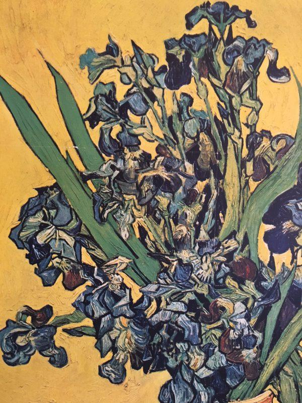 Van Gogh (d'après) Musee des beaux-arts Original Vintage Poster