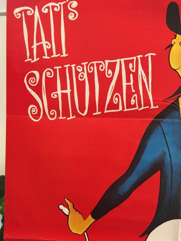 Tati Schutzen Fest Jour De Fete by Jacques Tati Original Vintage Poster