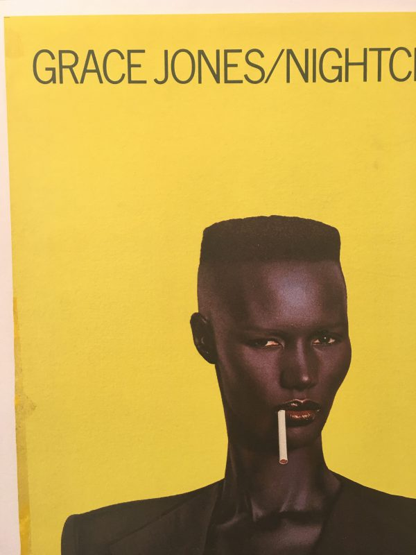 Grace Jones Nightclubbing Original Vintage Poster