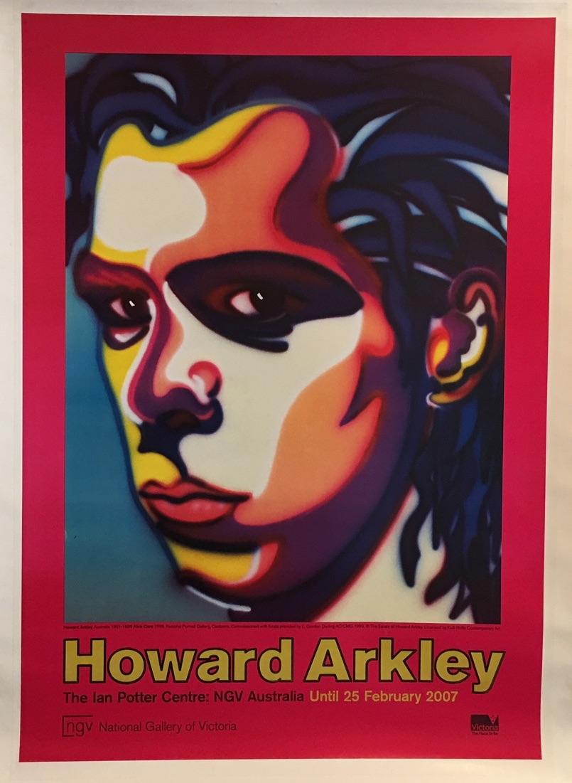 Howard Arkley NGV Australia Original Vintage Poster