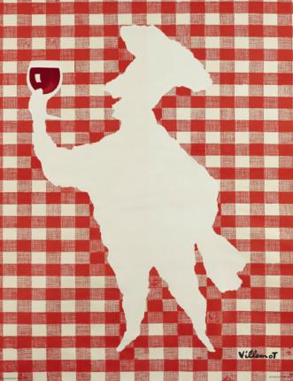 Original Vintage Poster Villemot Foire Gastronomique De Dijon