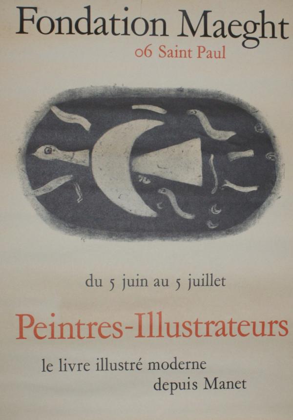 George Braque Fondation Maeght 'Peintres-Illustrateurs'