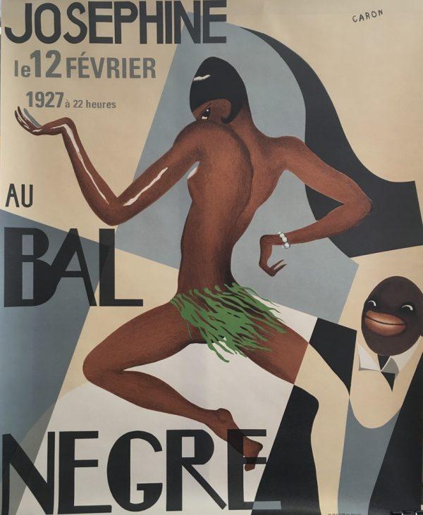 Josephine Baker Au Bal Negre Original Vintage Poster