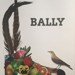 Bally Fruit Bezombes Original Vintage Poster