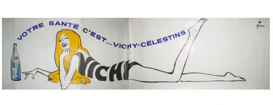 Vichy Votre Sante C'est Vichy Original Vintage Poster