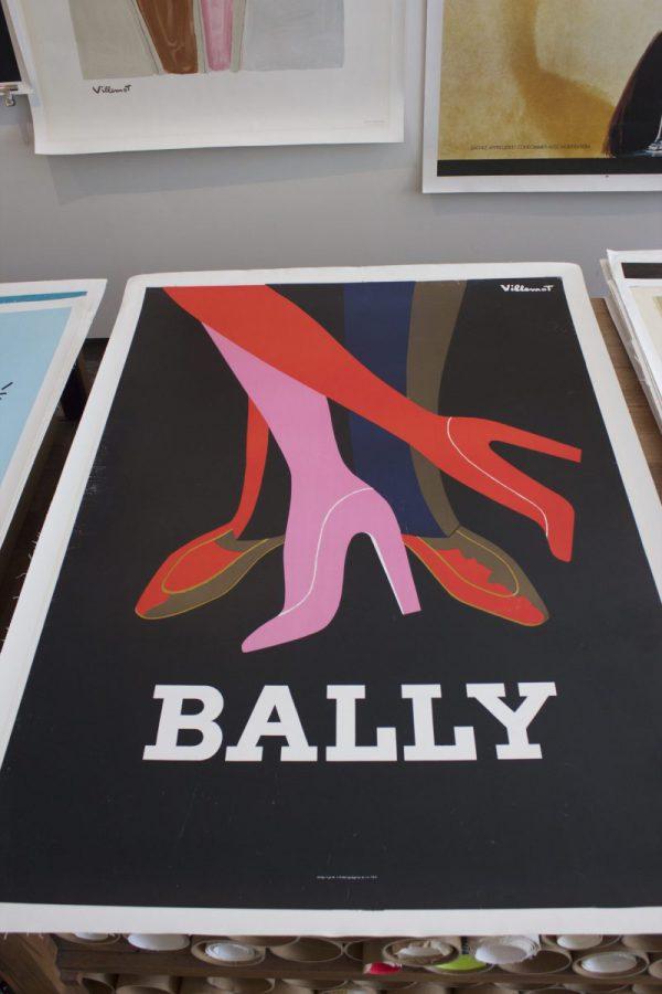 Bally Tango Original vintage poster