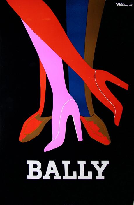 bally-tango-villemot original vintage poster