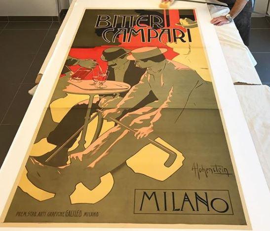 Bitter Campari Hohenstein Adolph 1910 Milano
