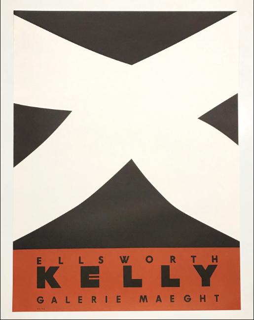 Noir et rouge Original Vintage Poster