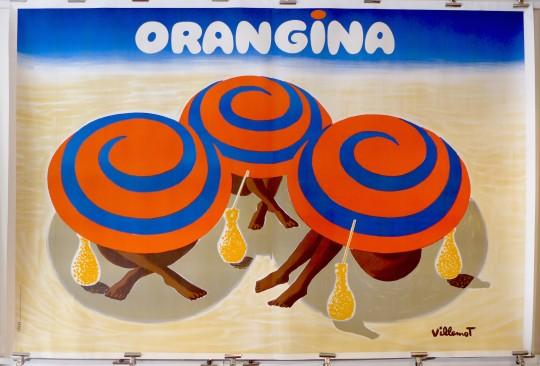 Orangina Umbrellas