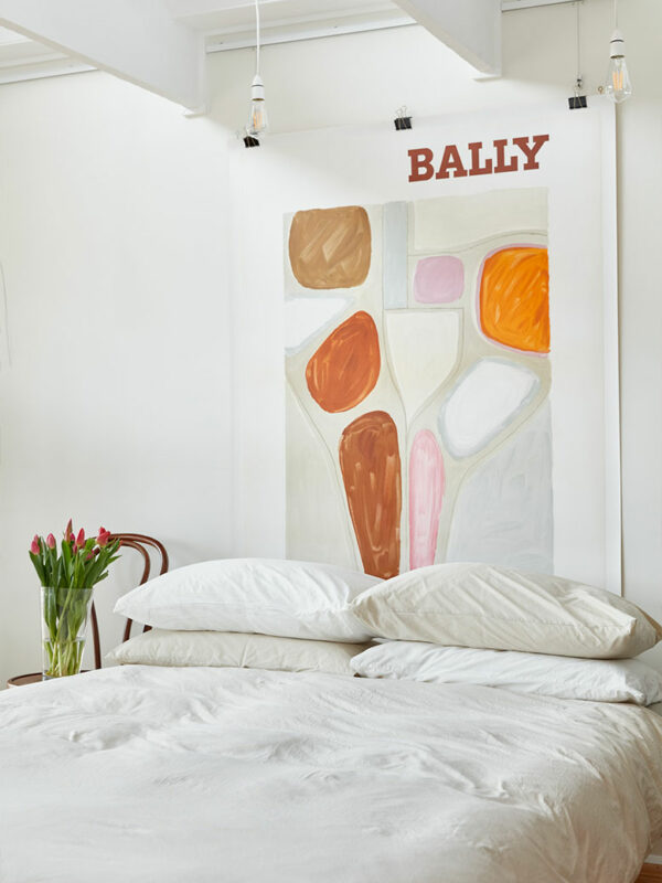 Bally abstract Villemot vintage poster Melbourne