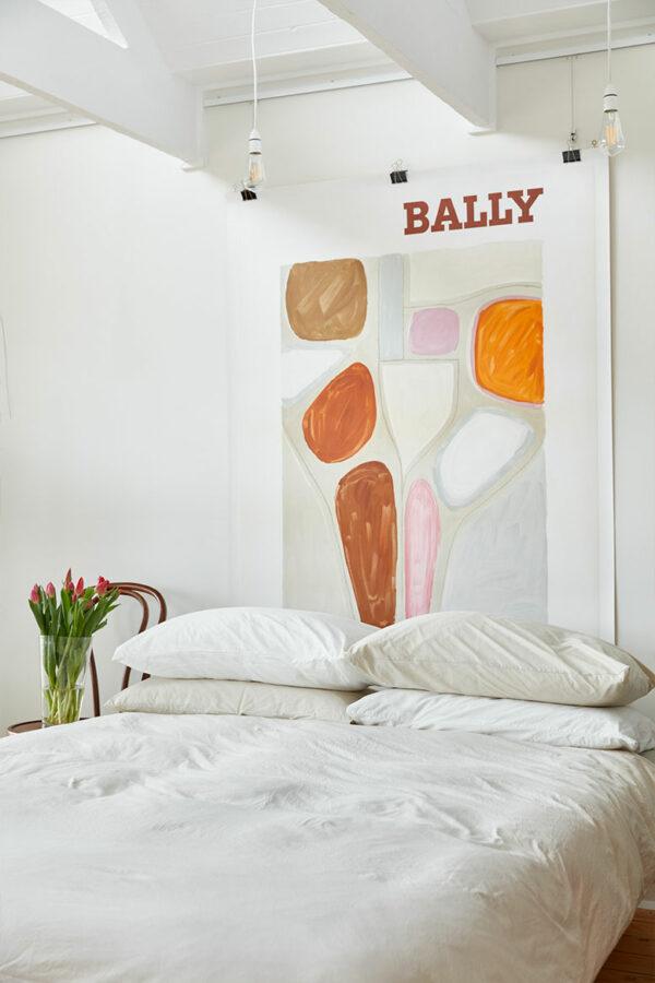 Bally abstract Villemot vintage poster Melbourne