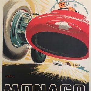 Monaco Grand Prix 1955 by Falcucci