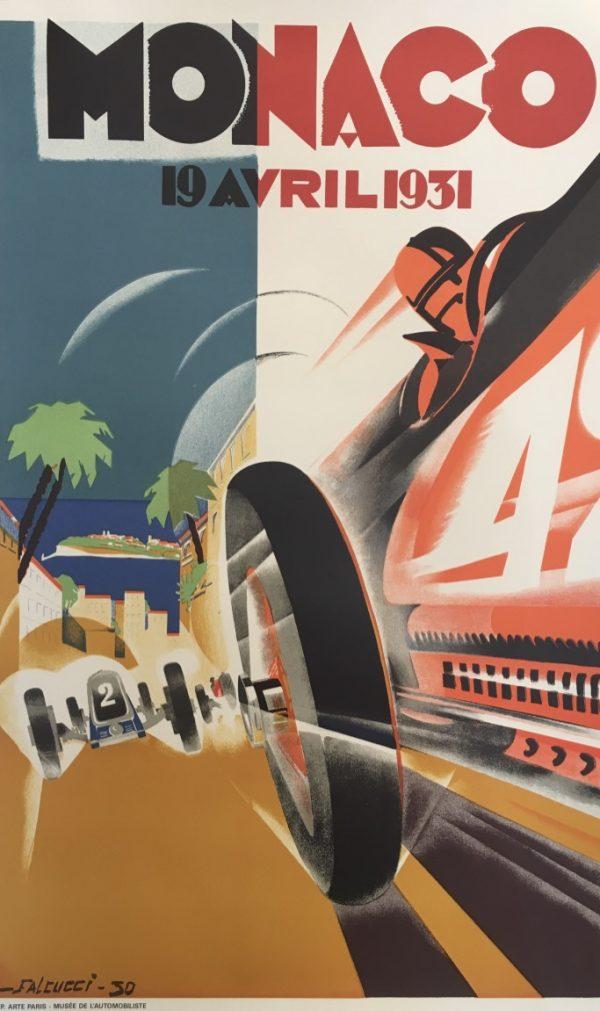 Monaco Grand Prix 1931 by Falcucci