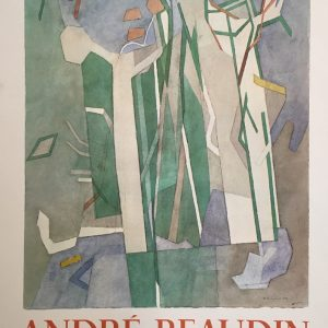 Andre Beaudin Galerie Louise Original Vintage Poster