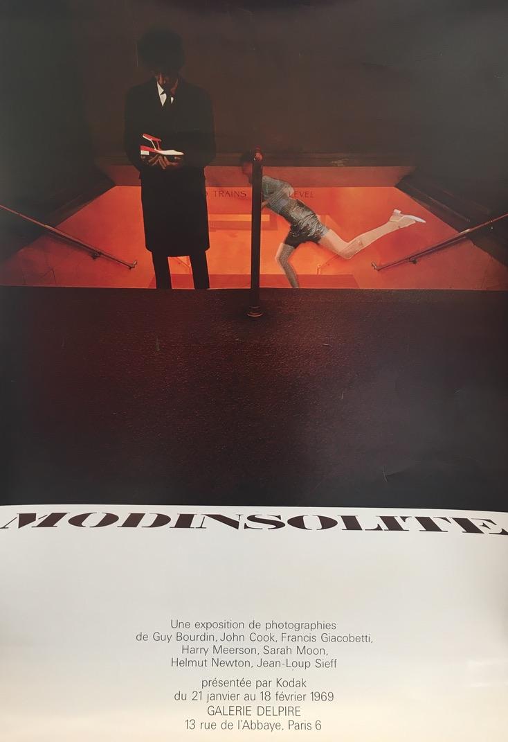 Modinsolite Guy Bourdin Original Vintage Film Poster