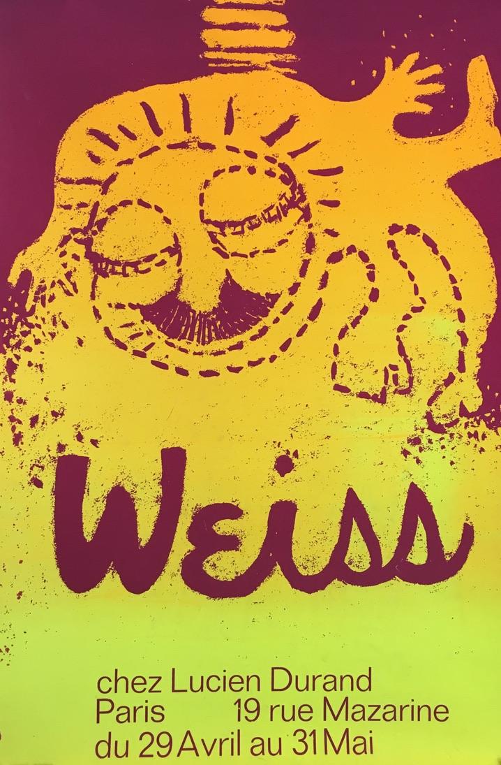 Weiss Chez Lucien Durand Original Vintage Poster