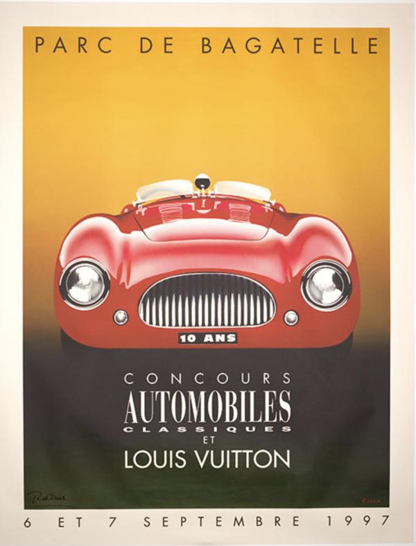Parc de Bagatelle Louis Vuitton - 1997 Original Vintage Poster