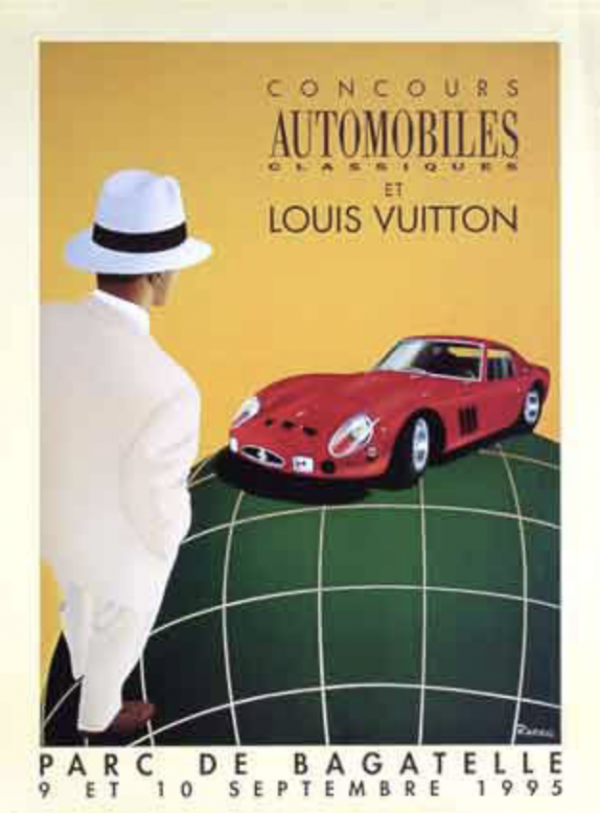 Parc de Bagatelle Louis Vuitton - 1995 Original Vintage Poster