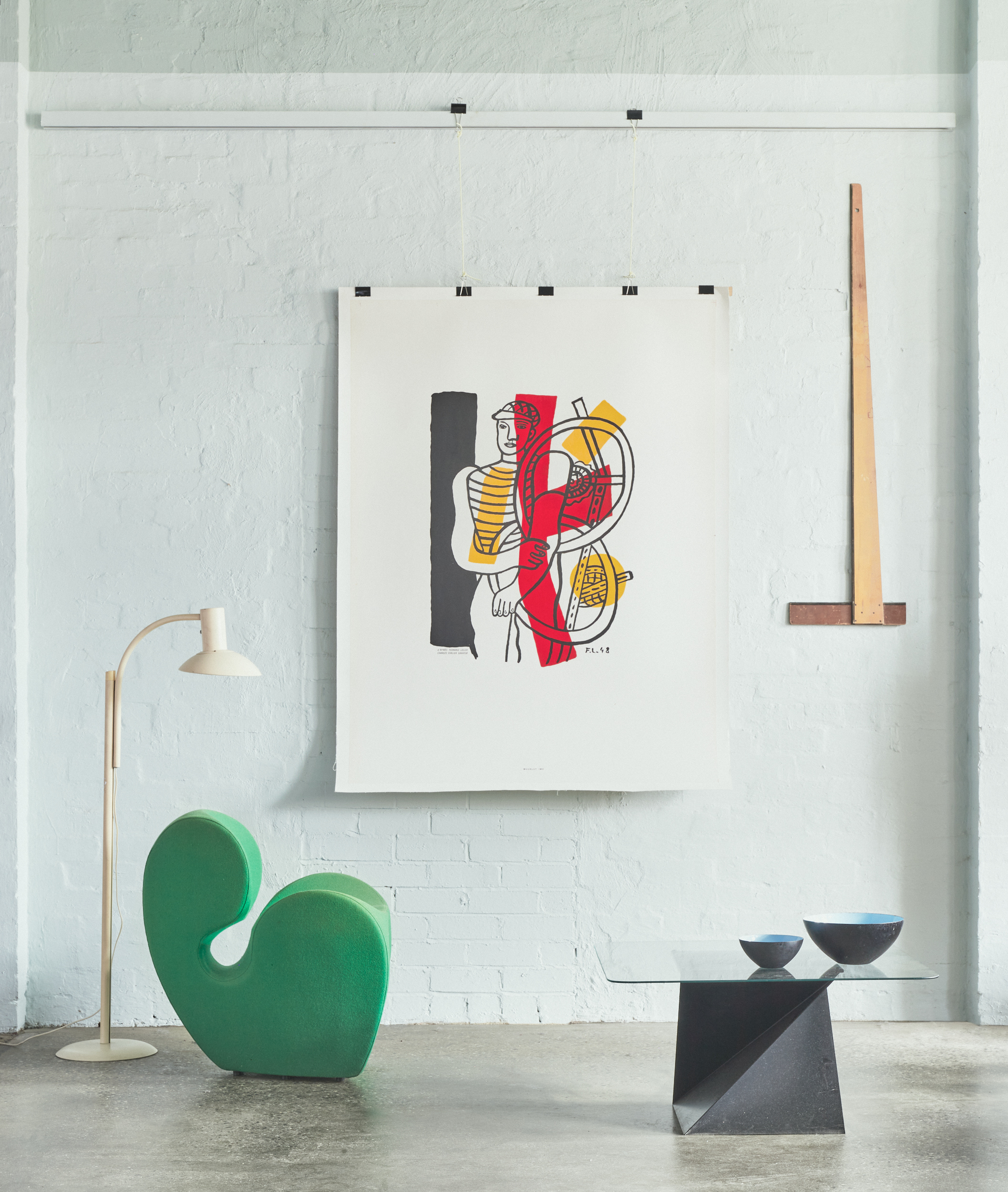 Nord modern vintage posters Letitia Morris gallery