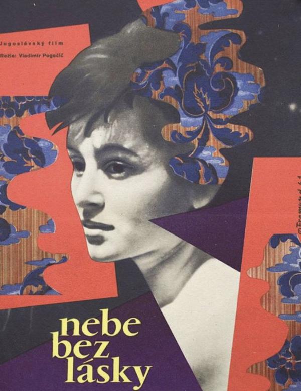 Nebe Bez Lasky Film Poster 1961 Original Vintage Poster