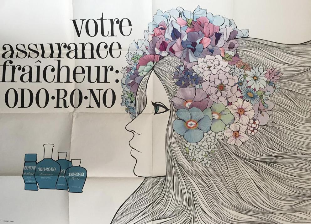 ODO-RO-NO Jean Fortin Original Vintage Poster